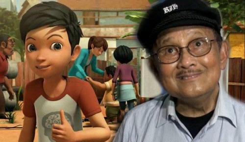 Wow Keren... Pak Habibie Ikut Main Serial Animasi Adit Sopo Jarwo