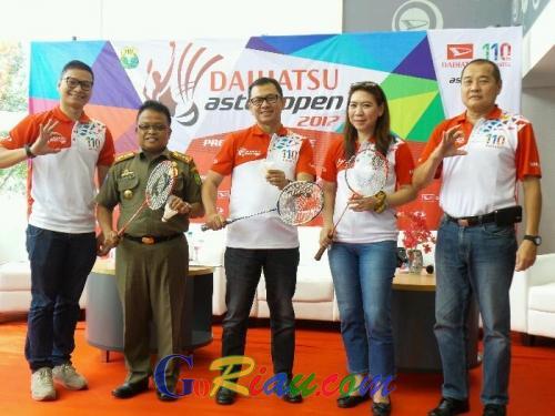 Cari Atlet Bulutangkis Terbaik di Kota Bertuah, Pasangan Legendaris ini Kembali Gelar Daihatsu Astec Open 2017, Pekanbaru Perdana