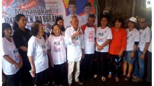 Sekelompok Orang Mengaku Keponakan Prabowo Dukung Jokowi, Keluarga Prabowo Tak Mengenalnya