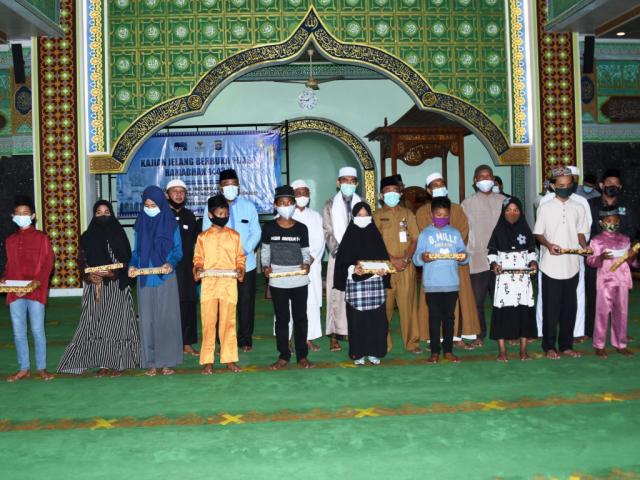 Masjid Agung Istiqomah Bengkalis Santuni 358 Anak Yatim