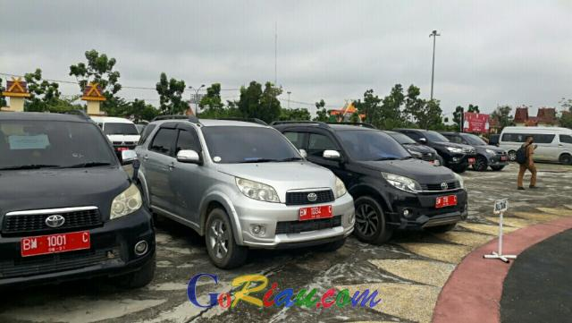 Aset Kendaraan Dinas Pemkab Pelalawan Mulai Dikumpulkan untuk Didata