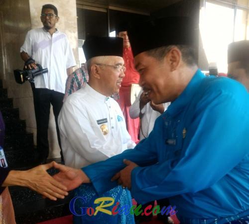 Halal Bihalal, Gubernur Riau: Jangan Jadikan