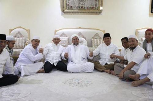 Usai Bertemu Amien dan Prabowo di Makkah, Habib Rizieq Berpesan Segera Deklarasikan Koalisi Keumatan 4 Parpol