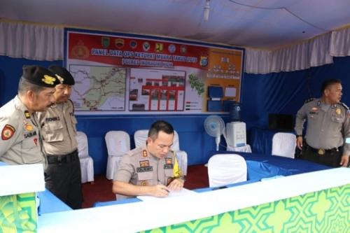 Ditempatkan di 5 Pos Pengamanan dan Pelayanan, Polres Inhil Kerahkan 115 Personil