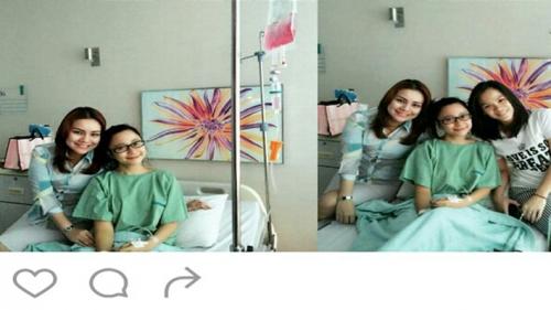 Mohon Doa... Artis Chiquita Meidy Dirawat di RS karena Penyakit Typoid Indikasi Virus Otak