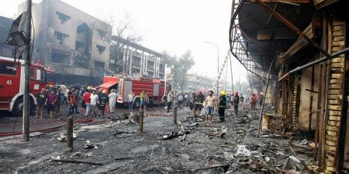 Bom Meledak di Pasar Ramadan, 18 Tewas