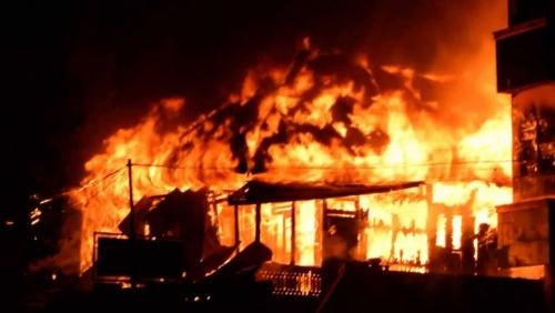 Sebuah Apotek Ludes Terbakar, Delapan Orang Tewas Terpanggang Karena Tak Bisa Keluar Dari Toko, Apa Kata Polisi?