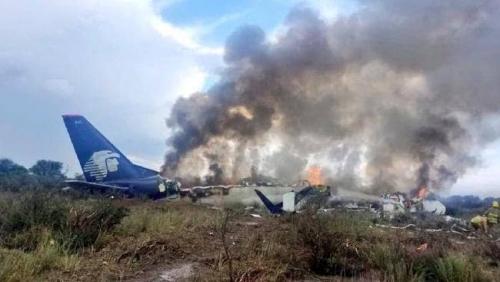 Ajaib, Pesawat Bermuatan 103 Orang Jatuh dan Terbakar, Semua Penumpang Selamat