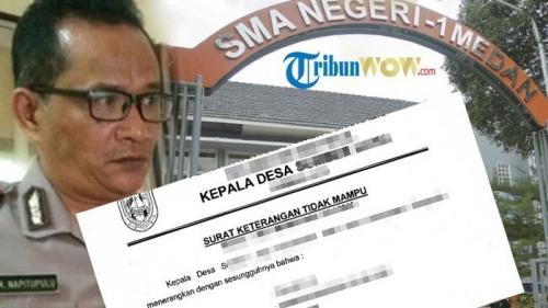 Kapolsek Galang Masukkan Anaknya ke SMA Negeri 1 Medan Pakai Surat Miskin, Begini Jadinya Setelah Ketahuan Disdik Sumut