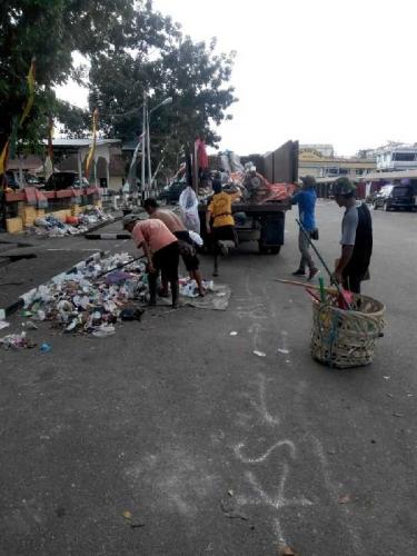 Sampah Pacu Jalur Capai 220.5 Ton, Petugas Bekerja Lembur