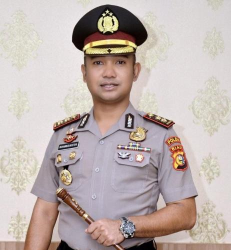 AKBP Henky Poerwanto Gantikan AKBP Mustofa sebagai Kapolres Kuansing