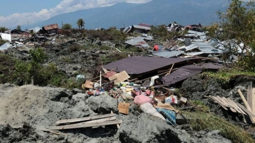 Data Terbaru BNPB, Korban Tewas Gempa dan Tsunami Sulteng 1.407 Orang