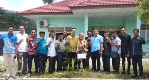 Anggota DPD RI Berkunjung ke PWI Kampar