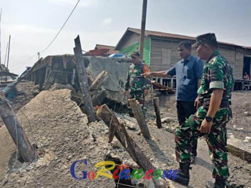 Jalan Tanjung Rukam yang Amblas Segera Diperbaiki