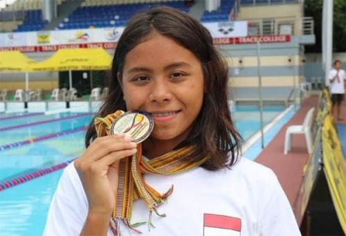 Turun pada 10 Nomor di ajang IOAC 2018, Azzahra Sudah Kantongi 2 Medali Emas