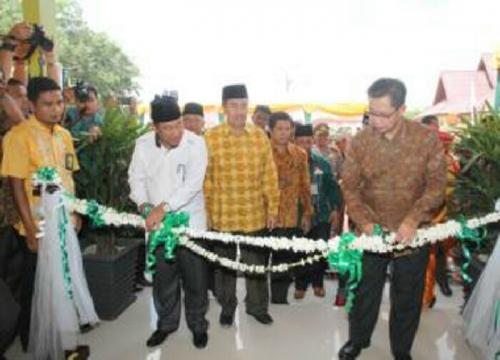 Siskohat Satu-satunya di Indonesia Diresmikan, Ngurus Haji dan Umrah Semakin Gampang di Siak