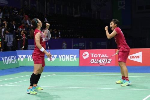 Tundukkan Pasangan Thailand, Greysia/Apriyani Sabet Juara India Open