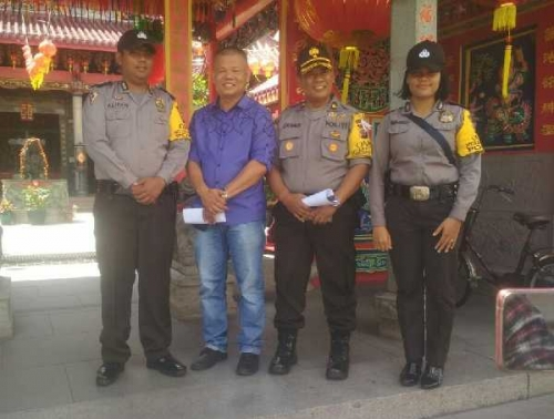 Ratusan Personil Kepolisian Disiagakan Selama Perayaan Imlek di Selatpanjang, Begini Rangkaian Acaranya..
