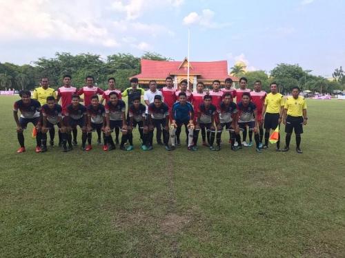 4 Klub Masuk Semifinal Kompetisi Divisi Utama Askab PSSI Kuansing