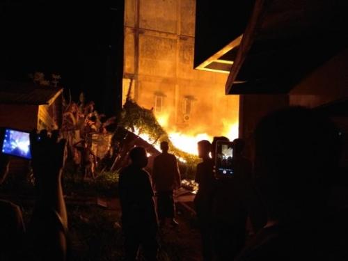 Dalam 2 Hari, Ruko Pedagang di Jalan Jendral Sudirman Tembilahan 3 Kali Nyaris Terbakar