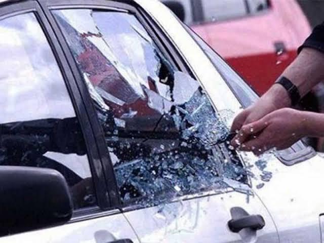 Kabur, Pelaku Pecah Kaca Mobil di Pekanbaru Akhirnya Ditangkap Warga