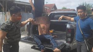 Tak Sampai 24 Jam, Ayah di Pekanbaru yang Tenggelamkan dan Injak Anak Tiri Hingga Tewas Ditembak Polisi