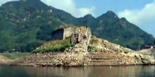 Bagian Tembok Besar China yang Hilang Muncul di Dasar Danau, Ini Penampakannya