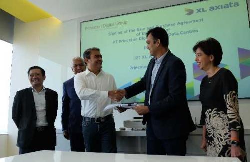 Princeton Digital Group Akuisisi Kepemilikan Mayoritas Portofolio Bisnis Data Center XL Axiata di Indonesia