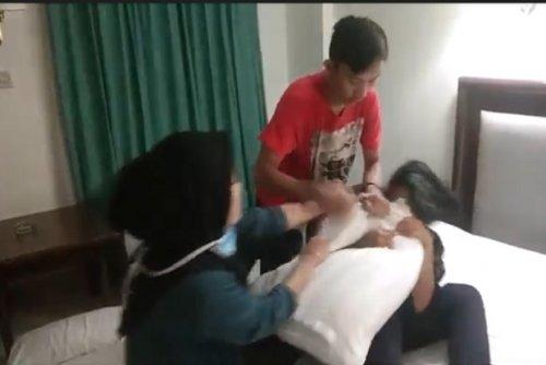 Wanita Hamil Gerebek Suami Selingkuh di Hotel, Sempat Bergumul di Ranjang