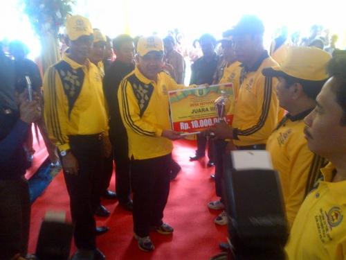Desa Bagan Sapta Permai Rohil Juarai BBGRM se-Riau