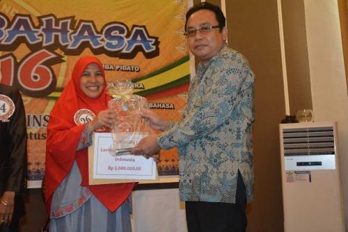 Guru SD IT As Shofa Pekanbaru Wakili Riau ke Pekan Bahasa Tingkat Regional Sumatera