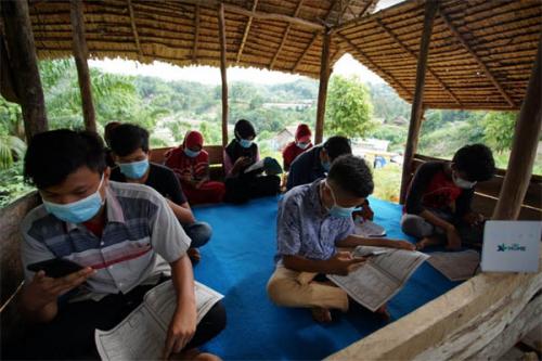 Permudah Pelajar Ikuti PJJ, XL Axiata Dukung Akses Internet di Pedesaan