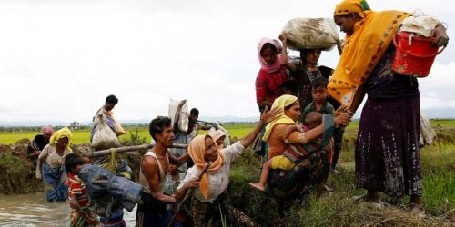 Pengakuan Pengungsi, Militer Myanmar Bakar Muslim Rohingya Hidup-hidup