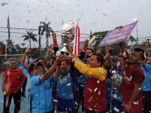 BNN Dumai Juara Danlanal Futsal Cup 2019