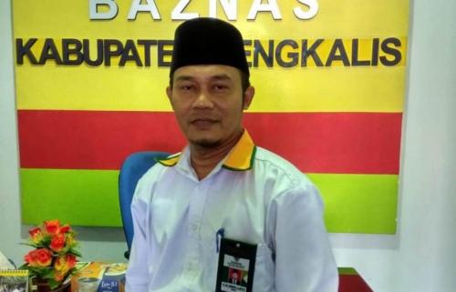 Baznas Bengkalis Taja Tabliqh Akbar di Dua Kecamatan dan Salurkan Zakat