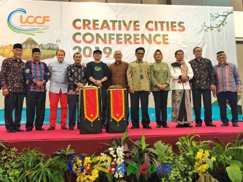 Siang Nanti, Syamsuar Mendapat Kehormatan Presentasi Ekonomi Kreatif Riau di ICCF 2019 Ternate