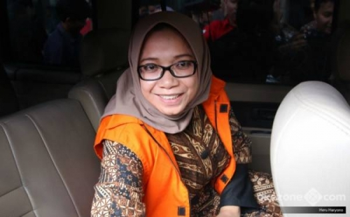 Eni Saragih Minta Suap Rp10 Miliar ke Johanes Kotjo untuk Danai Suaminya Ikut Pilkada