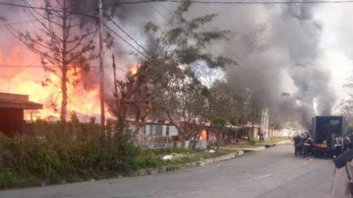 Korban Rusuh Wamena, Ketahuan Sembunyi di Rumah Tetangga yang Belum Terbakar, Begini Nasib Abdullah dan Adiknya
