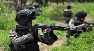 Aparat TNI dan Polri Baku Tembak dengan KKB 7 Jam, 2 Orang Tewas