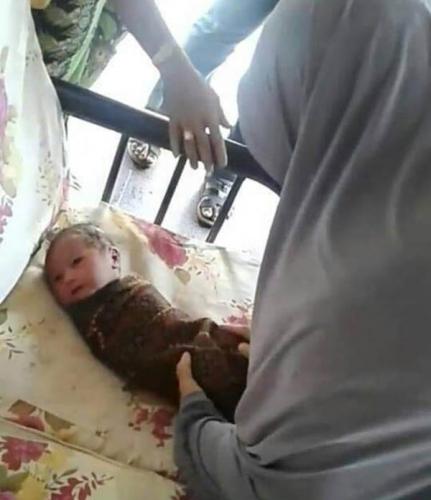 Bayi Mungil Ditemukan Warga Bengkalis dalam Kardus