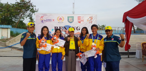 Cabor Renang Riau Tambah Medali Emas di Porwil X Sumatera