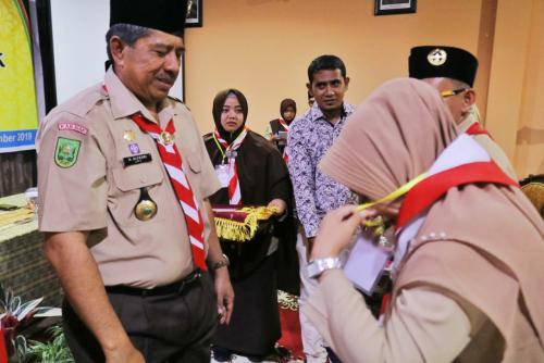 Pramuka Siak Satu-satunya di Indonesia yang Akreditasi Kwarcabnya Dilakukan Secara Online