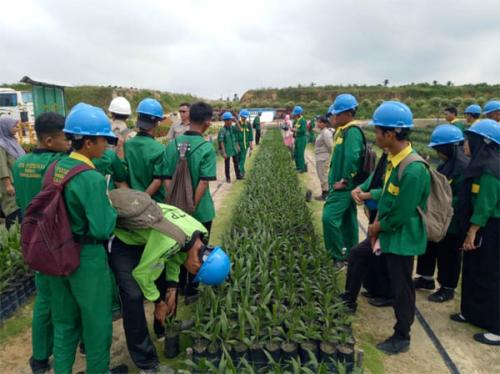 Asian Agri Masuk Sekolah Kenalkan Sawit Lestari