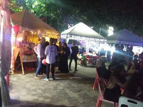 Meranti Night Resmi Dibuka, Kadisparpora Minta Jaga Keamanan dan Ketertiban Bersama