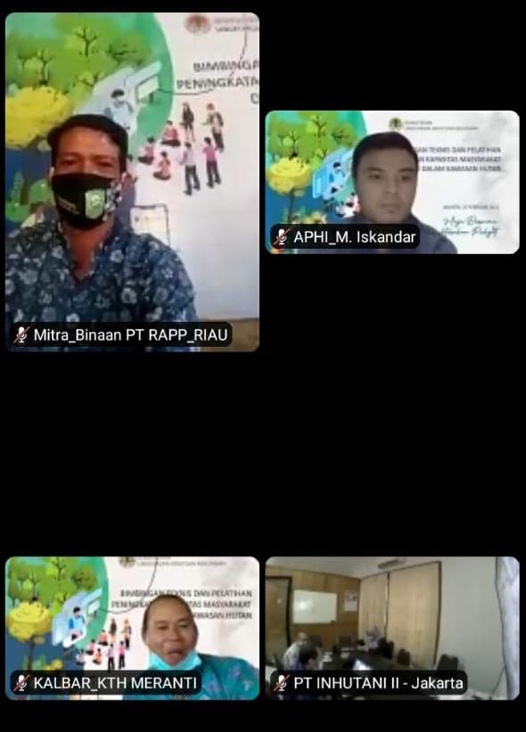 Bangga Diundang KLHK, Peternak Sapi Binaan PT RAPP Presentasikan Teknik Produksi Kompos