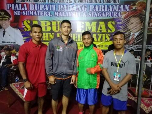 Petinju asal Meranti Raih Medali Emas di Piala Bupati Padang Pariaman, Rizki Hidayat: Semoga Atlet Lain Termotivasi