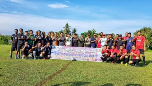 PSSI Meranti Gelar Pertandingan Amal Peduli Salembe