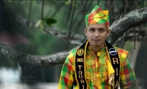 Teguh Syuhada, Wakil Riau Mister Tourism Indonesia 2016 di Bali
