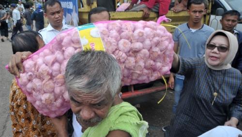 Mentan, Harga Bawang Putih Maksimal Rp30.000/Kg, Kalau Lebih Laporkan