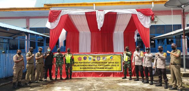 Cegah Penularan Covid-19, Kapolres Eko Wimpiyanto Imbau Masyarakat Patuhi Aturan Peniadaan Mudik 2021